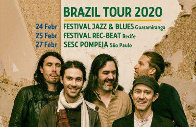Brazil Tour Black Flower
