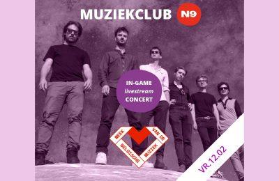 Kosmo Sound in-game livestream / Muziekclub N9 x Soundstorm